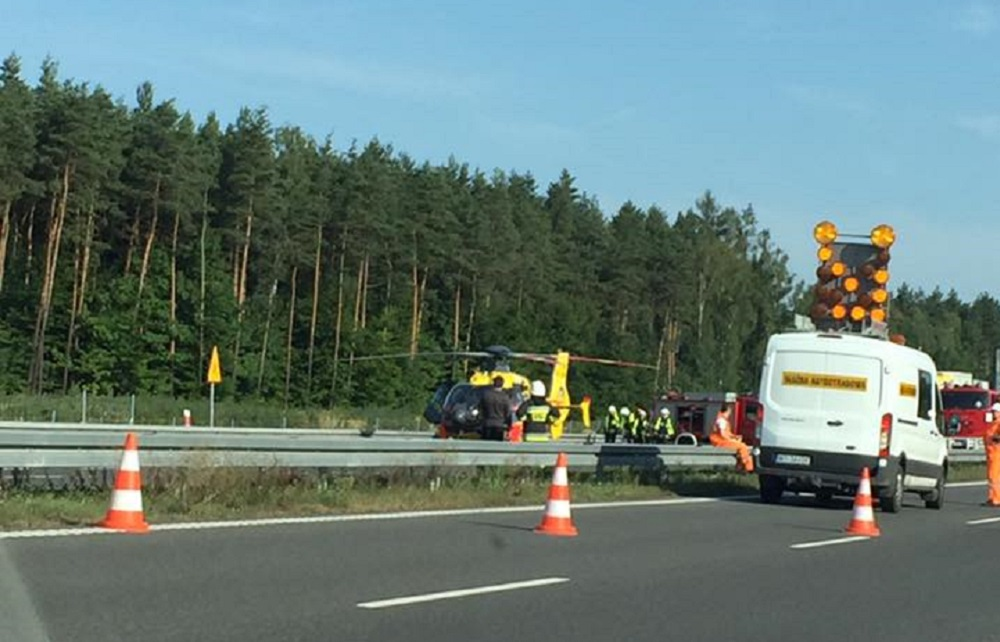 Śmiertelny wypadek na A1