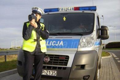 Nie dla prędkości - wspólne działania rybnickich i wodzisławkich policjantów