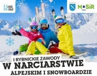 I Rybnickie Zawody w Narciarstwie Alpejskim i Snowboardzie