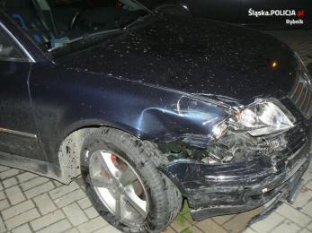 Oficer z katowickiej komendy zatrzymał pijanego kierowcę
