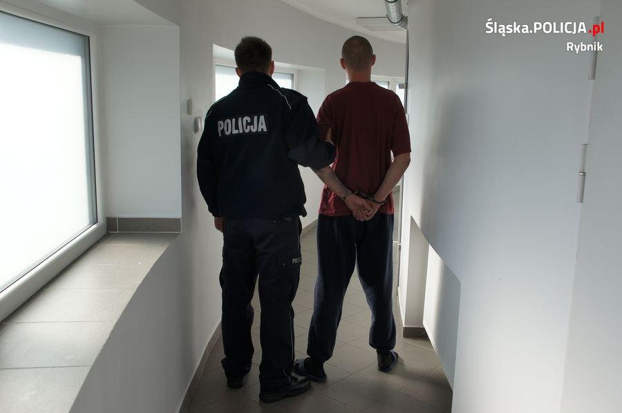 Areszt dla podejrzanych o rozbój w centrum Rybnika