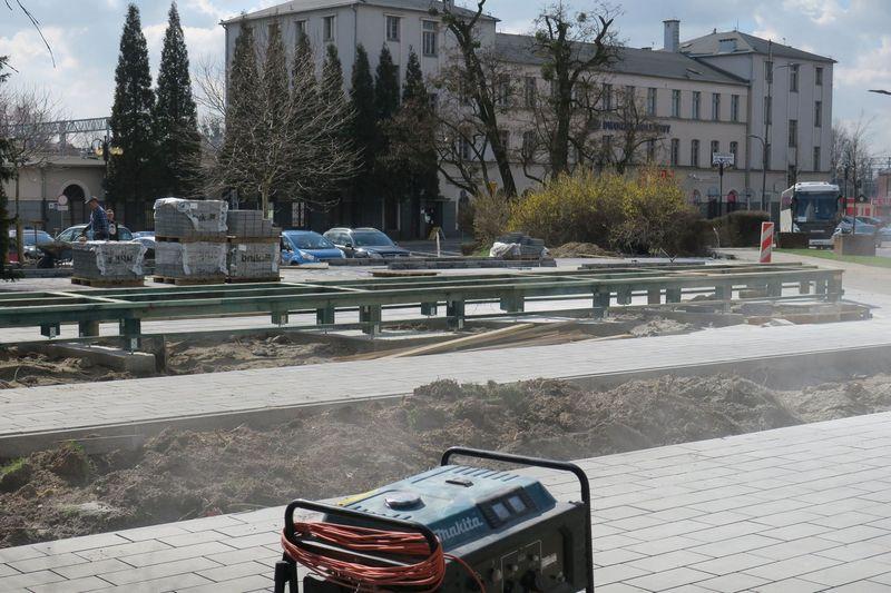 Centrum przesiadkowe w Rybniku - trwa budowa