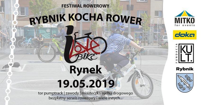 "Przed nami Festiwal ""Rybnik kocha rower / I love bike"""