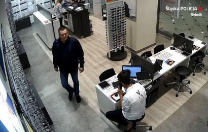 Mężczyzna dokonał kradzieży w centrum handlowym. Rozpoznajesz?
