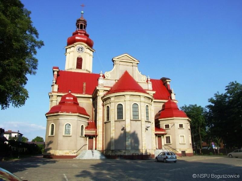Boguszowice - Kościół pw. Najświętszego Serca Pana Jezusa