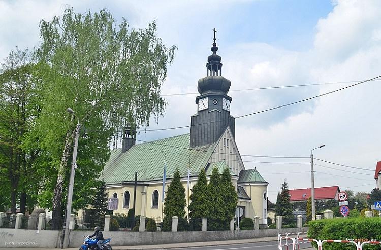 Niedobczyce - Kościół pw. Najświętszego Serca Pana Jezusa