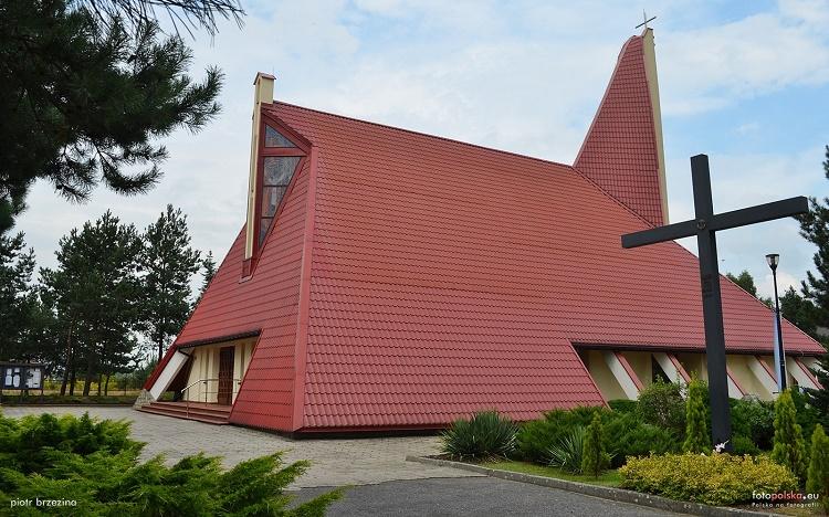 Ochojec - Kościół pw. Matki Boskiej Częstochowskiej