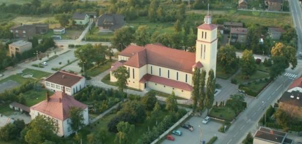 Popielów - Kościół pw. Trójcy Przenajświętszej