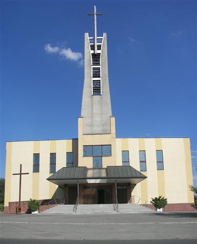 Rybnicka Kuźnia - Kościół pw. Wniebowzięcia Najświętszej Maryi Panny