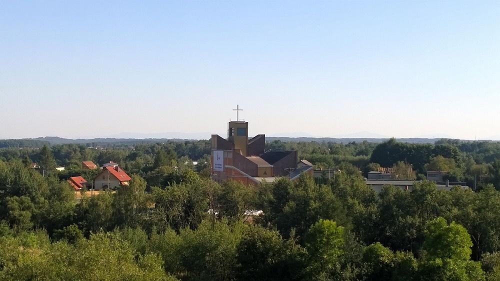 Maroko-Nowiny - Kościół pw. Matki Bożej Częstochowskiej